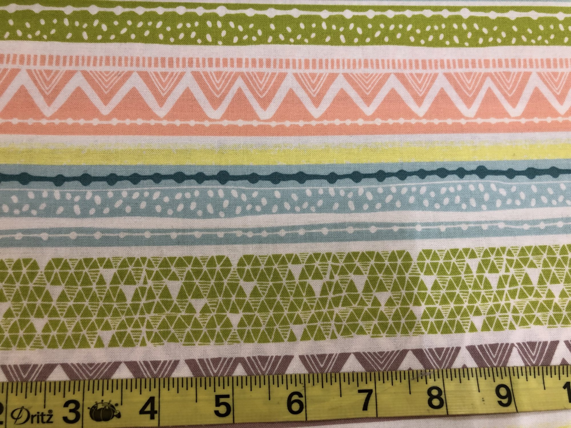 Geometric patterns in stripes