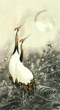 Greeting the Moon Cranes