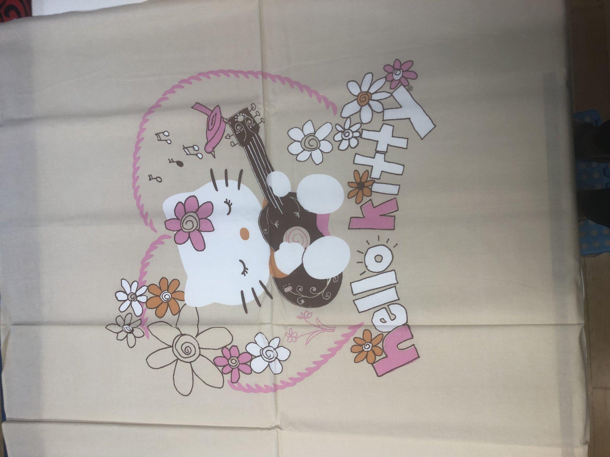 Hello Kitty Guitar Panel