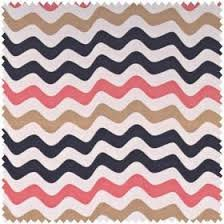 Squiggly  chevrons - small