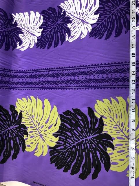 Monstera 1 purple