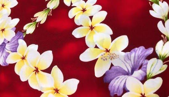 multi flower lei