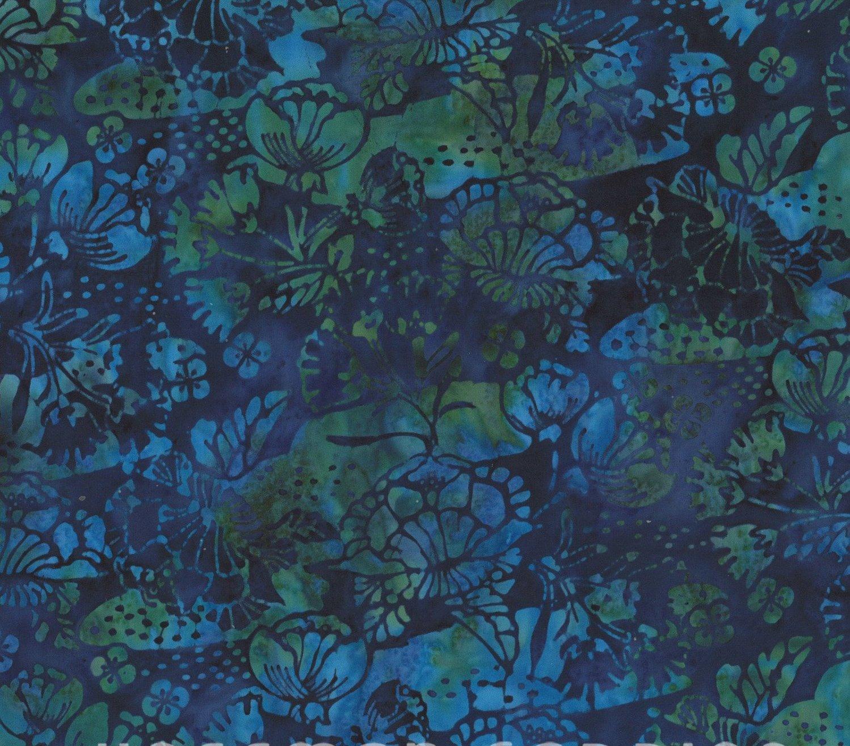 Kimono Floral Lapis
