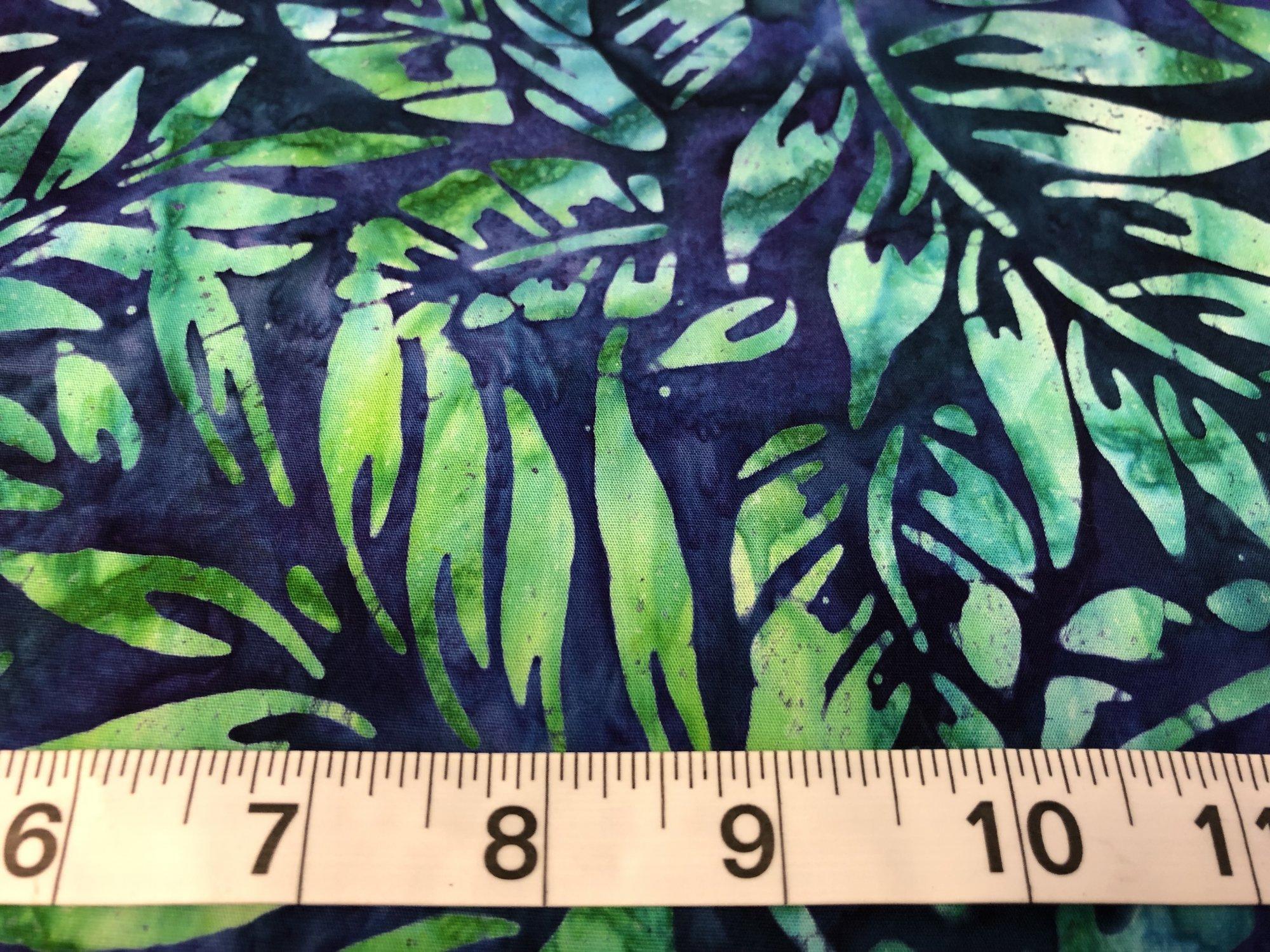 New Tropical Palms Batik