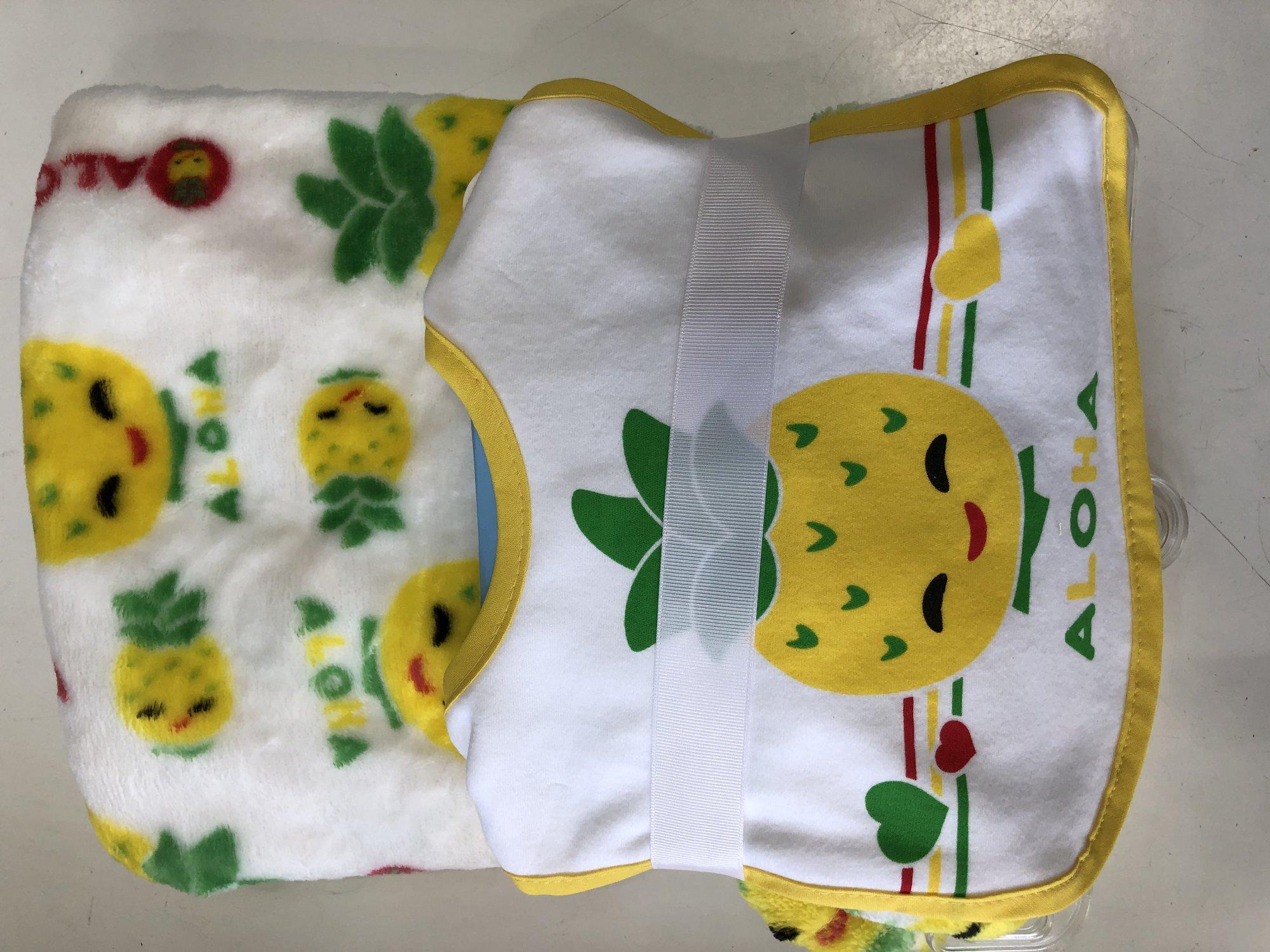 Baby Bib and Blanket Set