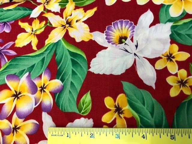 Plumeria and Orchids