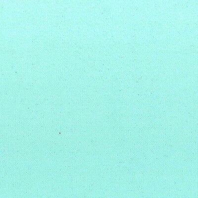 Solid Flannel Aqua