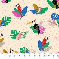 Tropical Jammin Parrots
