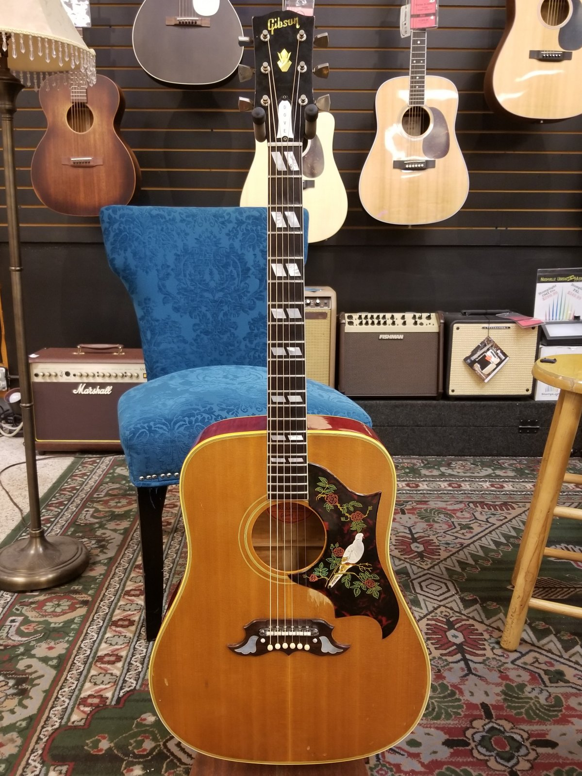 Gibson Dove (1964) w/OHSC