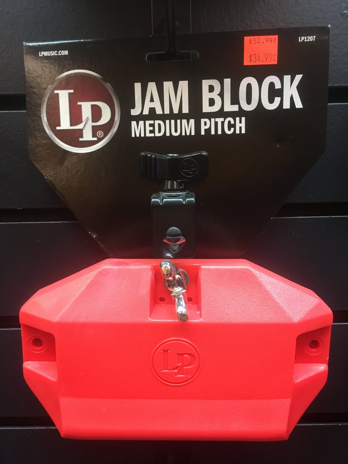 LP1207 Jam Block Medium Pitch