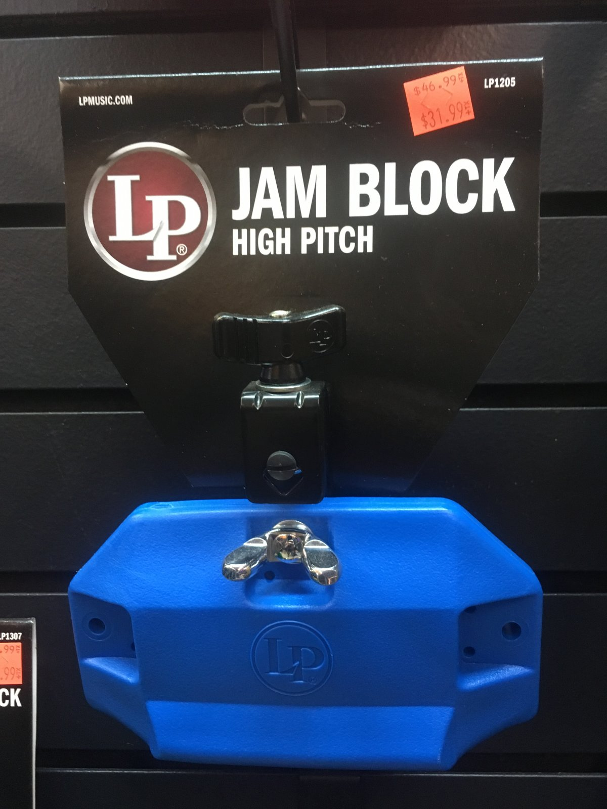 LP1205 Jam Block High Pitch