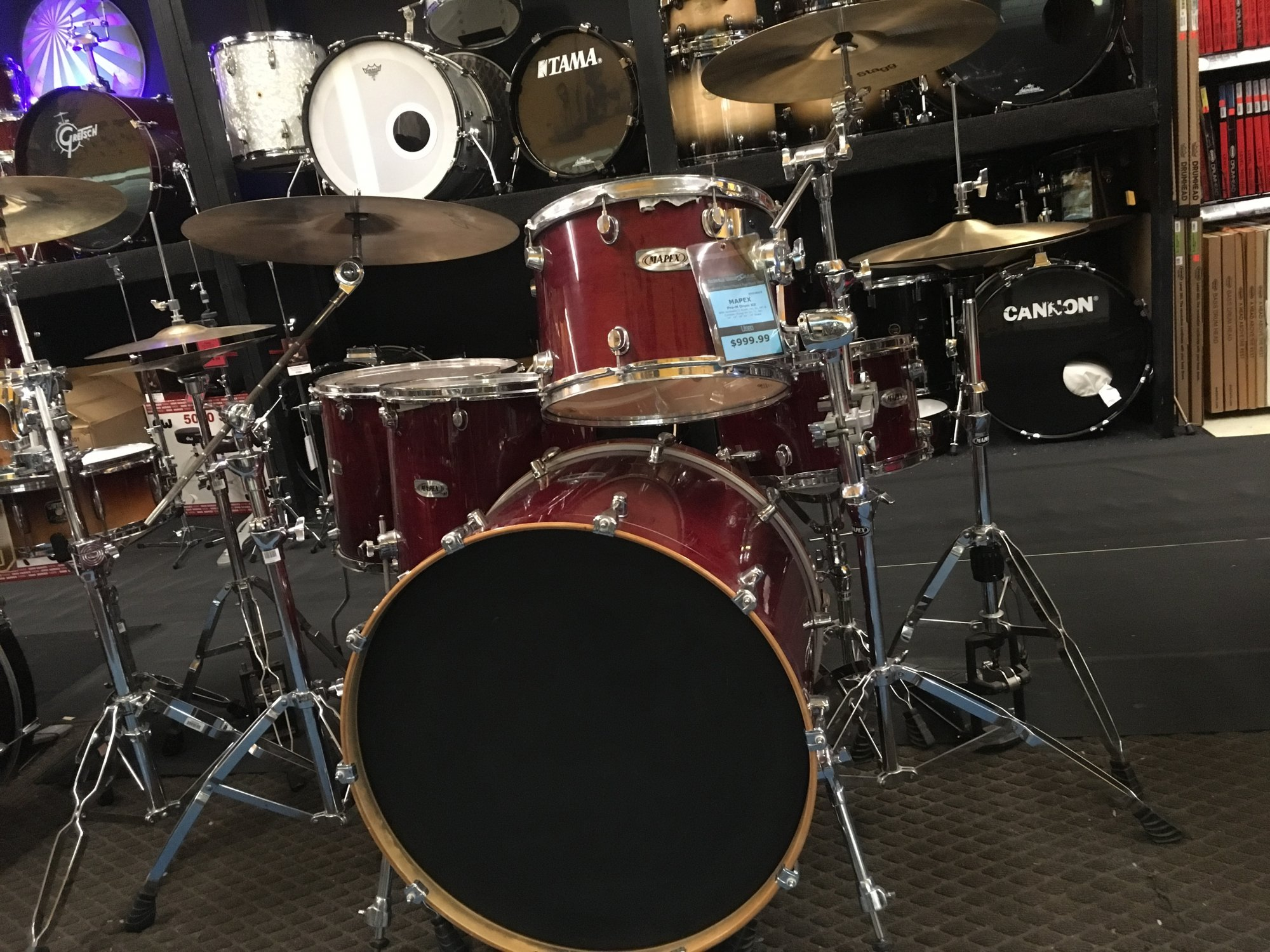 USED Mapex Pro M Drums