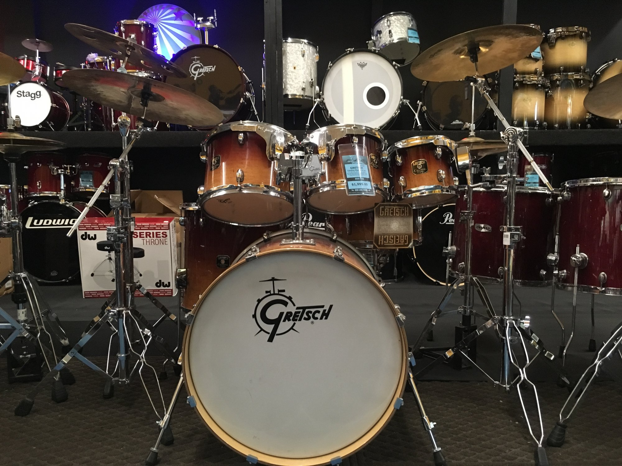 USED Gretsch Catalina Maple 6pc