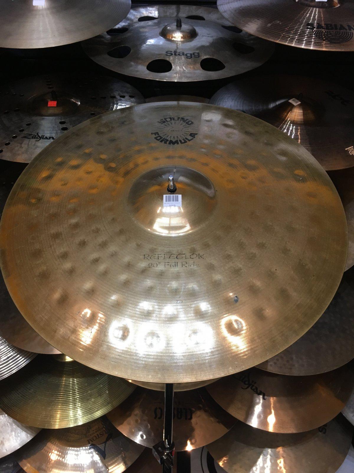 USED Paiste Sound Formula 20 Reflector Full Ride
