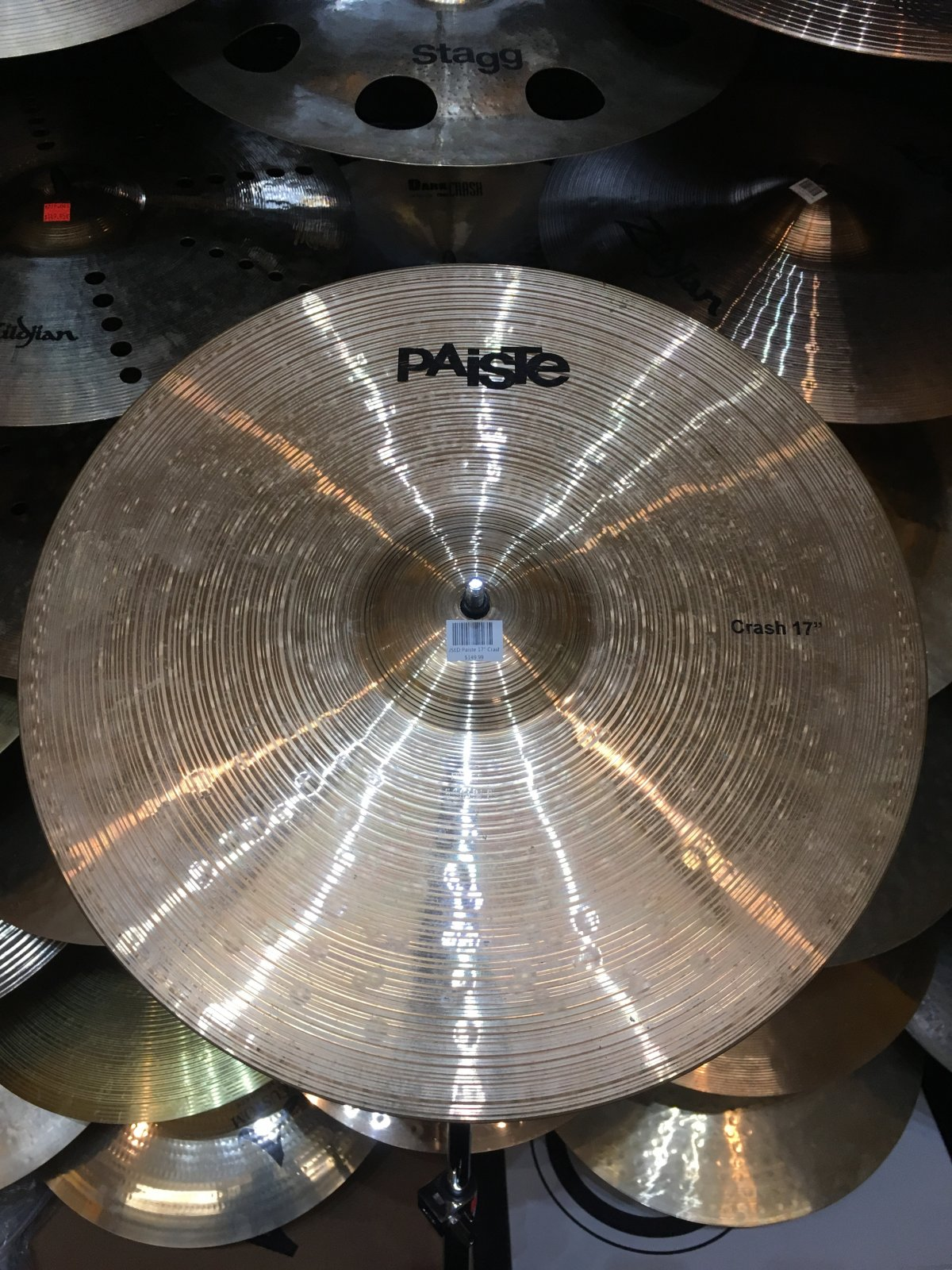 USED Paiste 17 Crash