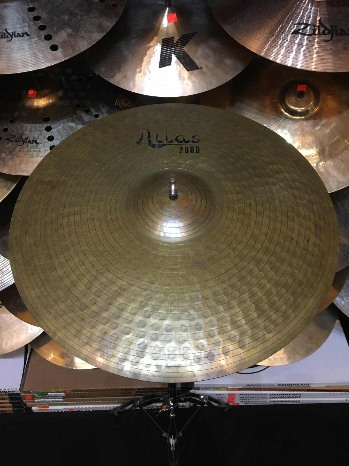 USED Vintage Atlas 20 Ride Cymbal *Made in Italy*