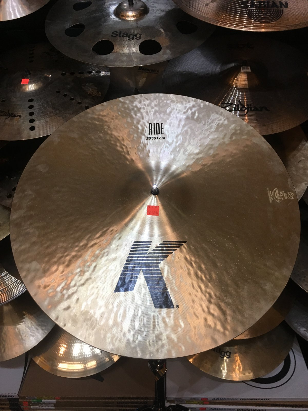 Zildjian 20 K Ride Cymbal
