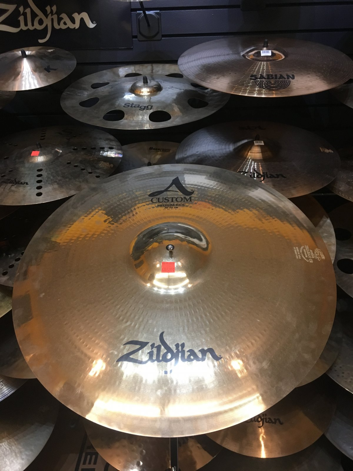 Zildjian 20 A Custom Medium Ride Cymbal