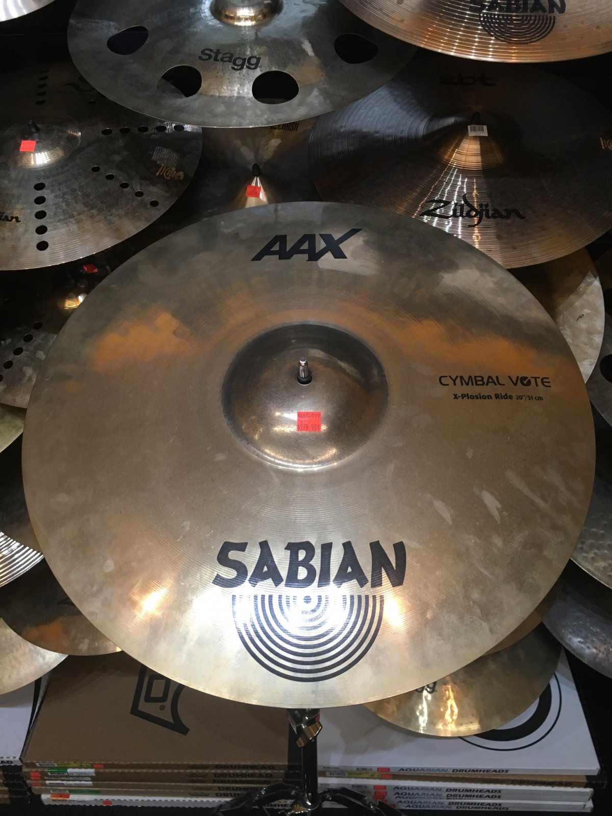 Sabian 20 AAX  X-Plosion Ride Cymbal