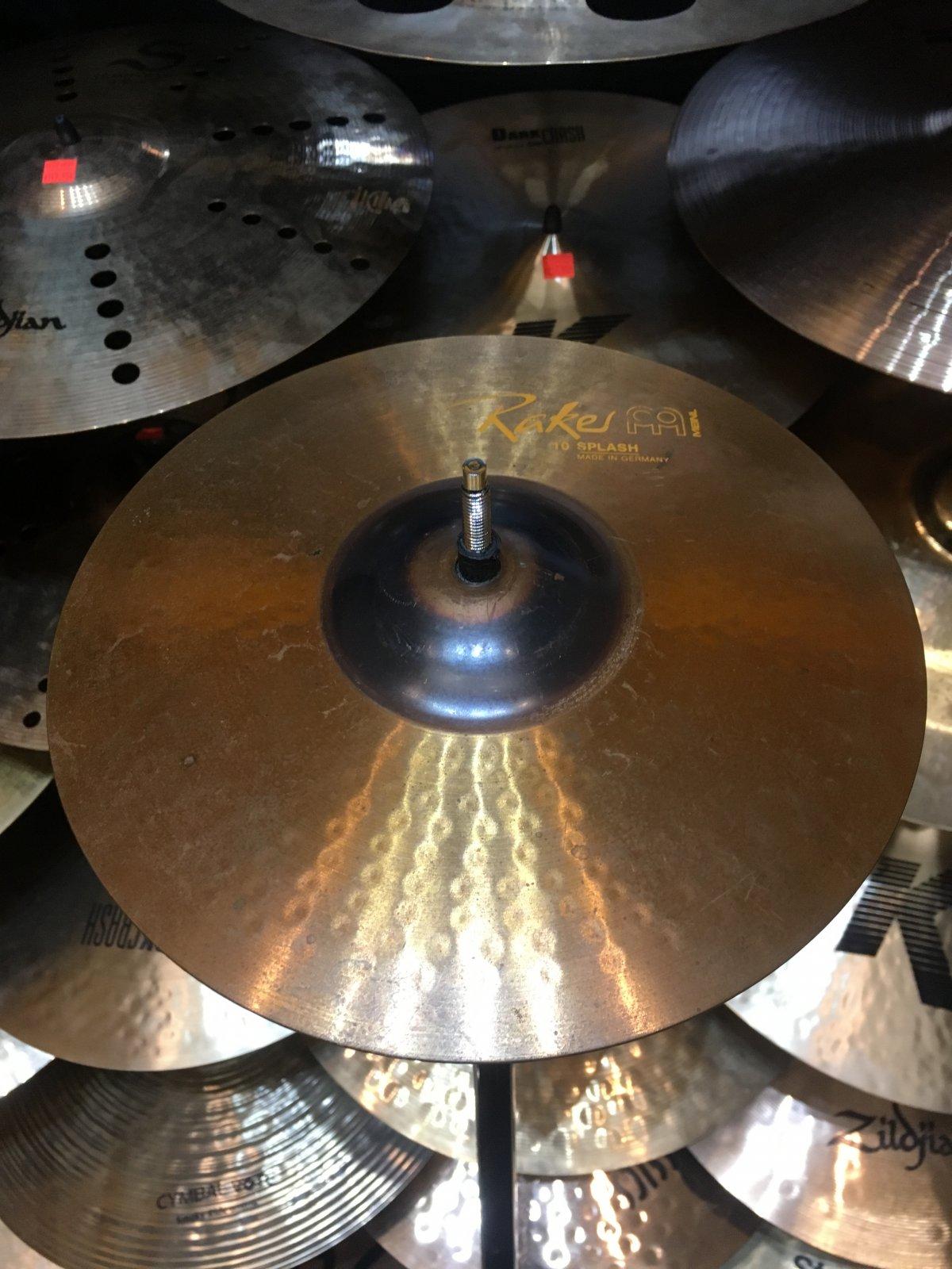 USED Meinl 10 Raker Splash Cymbal
