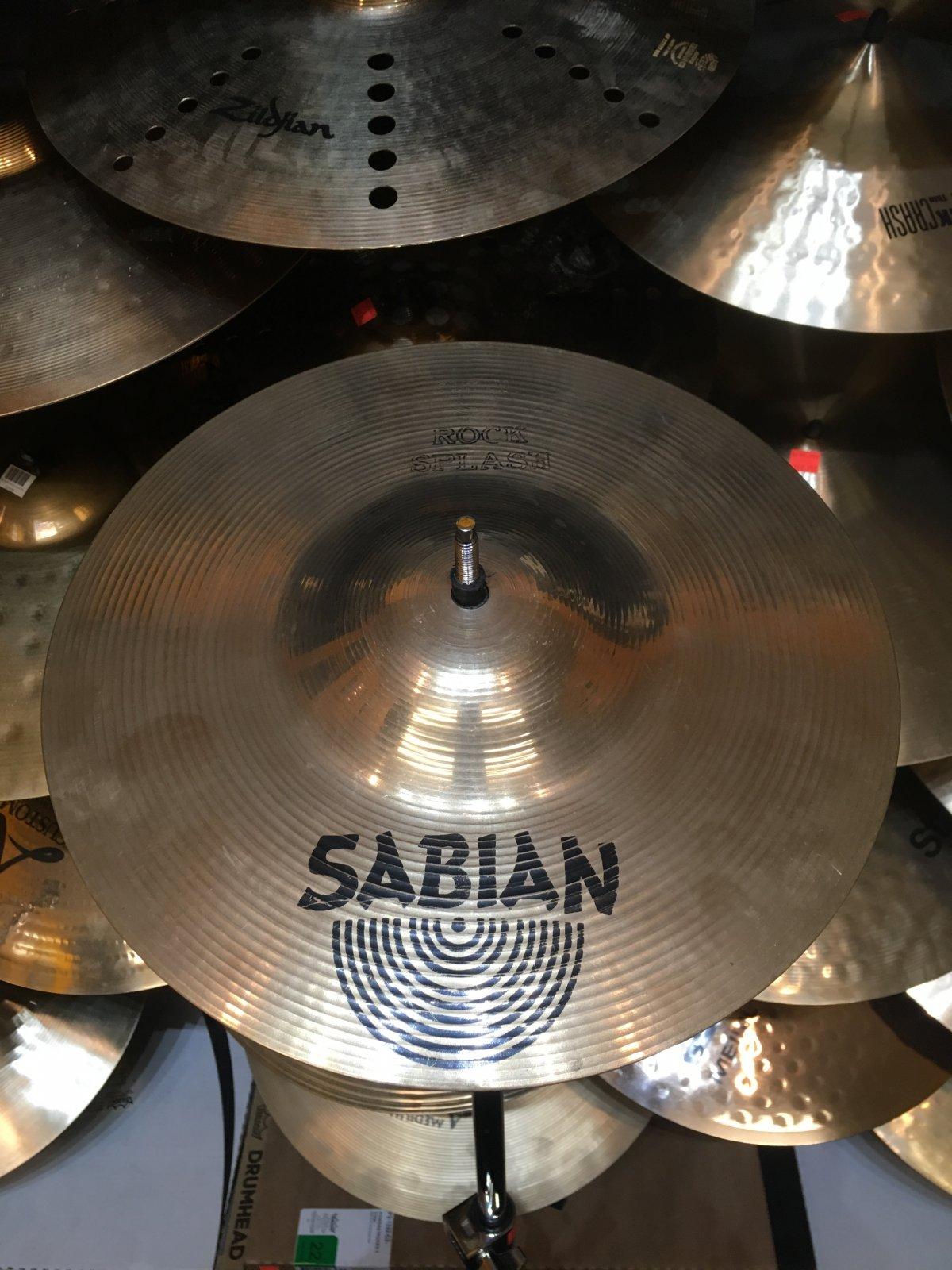 USED Sabian 12 Rock Splash