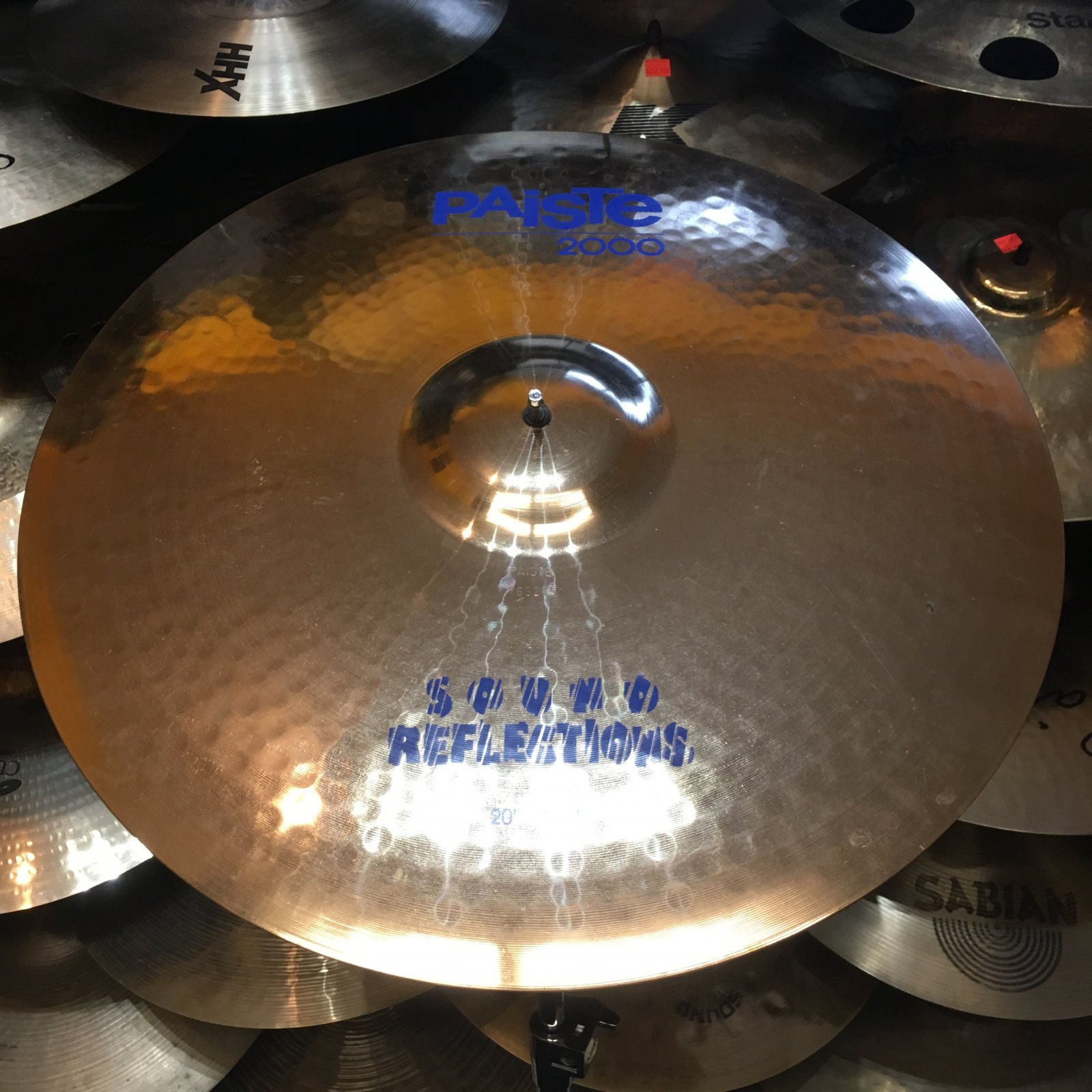 USED Paiste 20 2000 Sound Reflections Ride