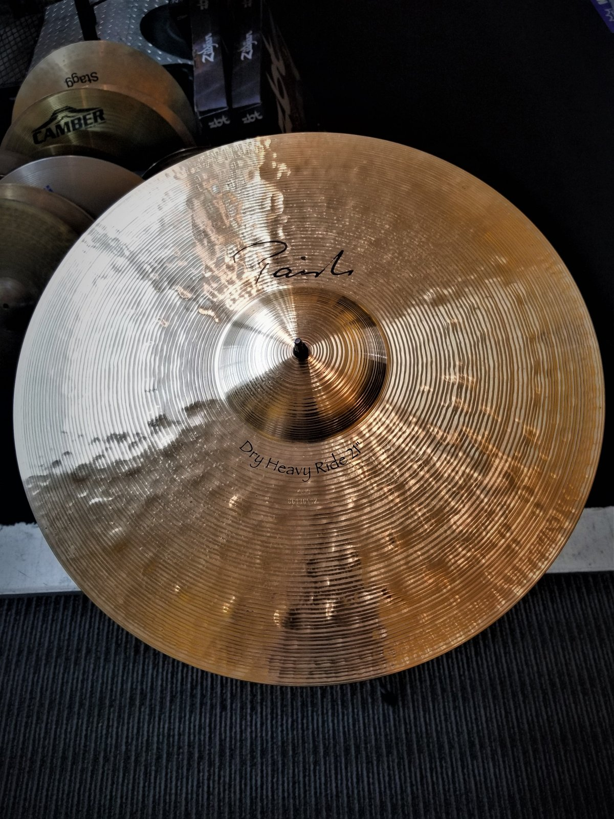 USED Paiste 21 Signature Dry Heavy Ride Cymbal