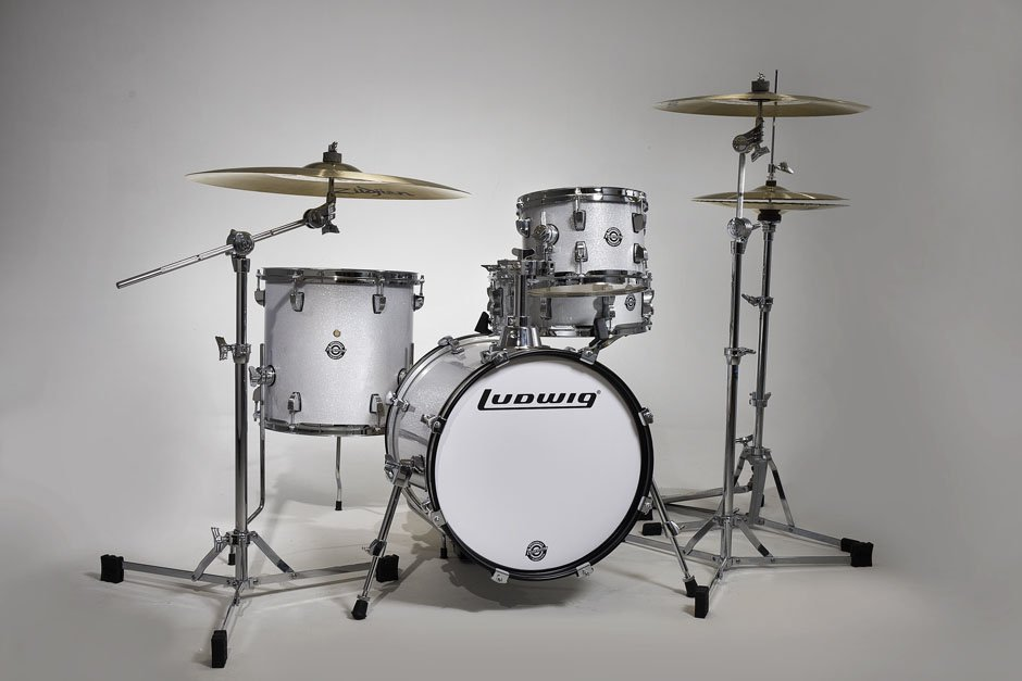 Ludwig 4pc ?uestlove Breakbeats Shell Kit