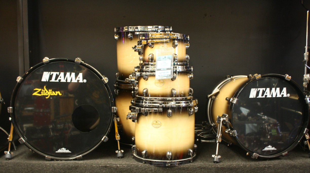 USED Tama 7pc Starclassic Maple
