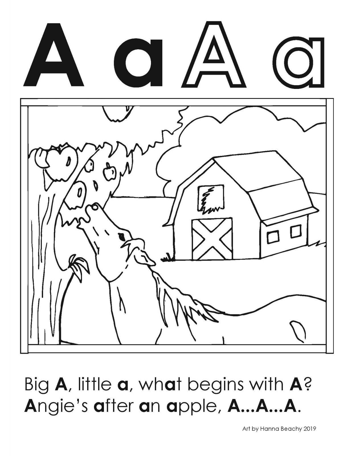Big A Little A