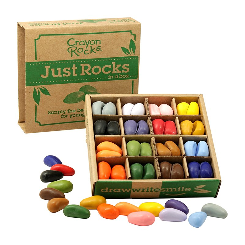 16 Color Just Rocks in a Box