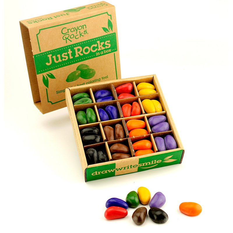 8 Color Just Rocks in a Box