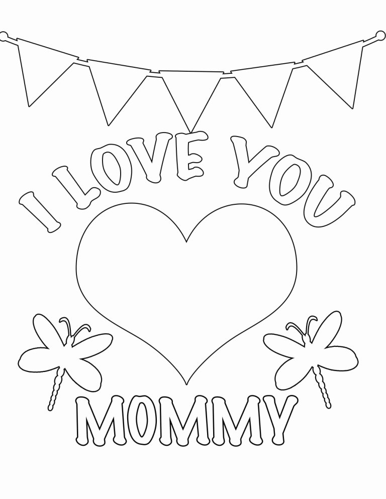 Valentine Card - I love Mommy