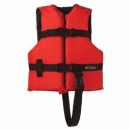 Child General Purpose Red/Black Life Vest