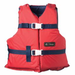 Youth General Purpose Red/Black Life Vest