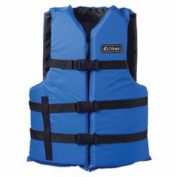 Adult General Purpose 2XL/4XL Blue/Black Life Vest