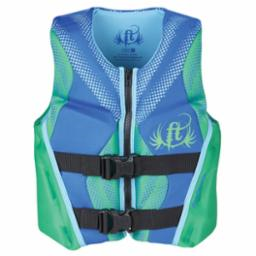 Youth Rapid Dry Green Life Vest