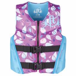 Youth Rapid Dry Purple Life Vest