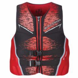 Adult Rapid Dry Red Life Vest