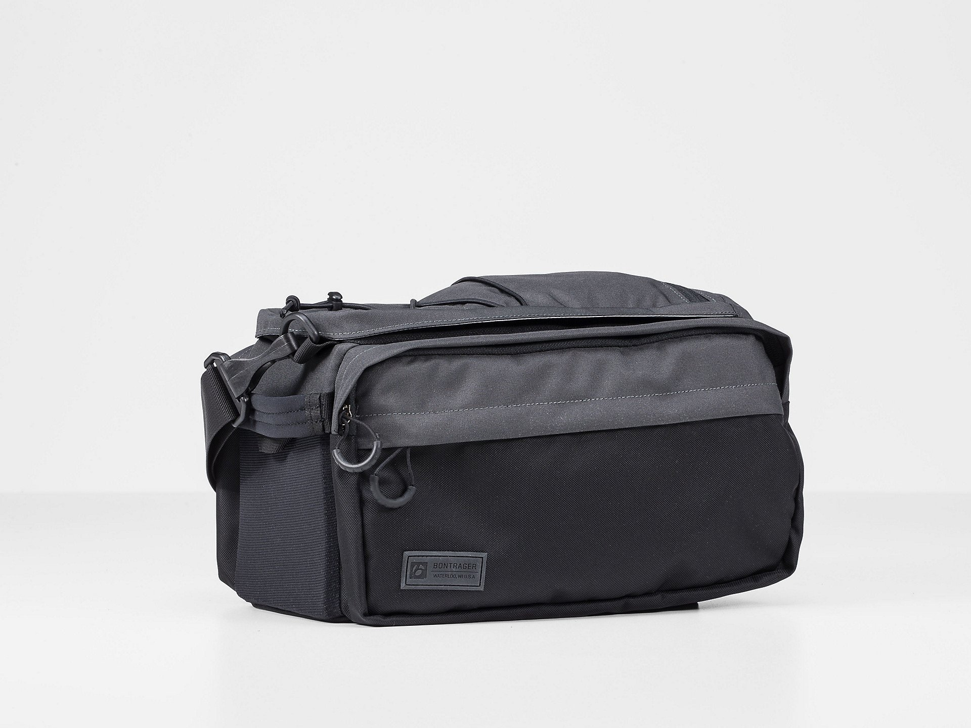 Bontrager MIK Utility Trunk With Panniers Black
