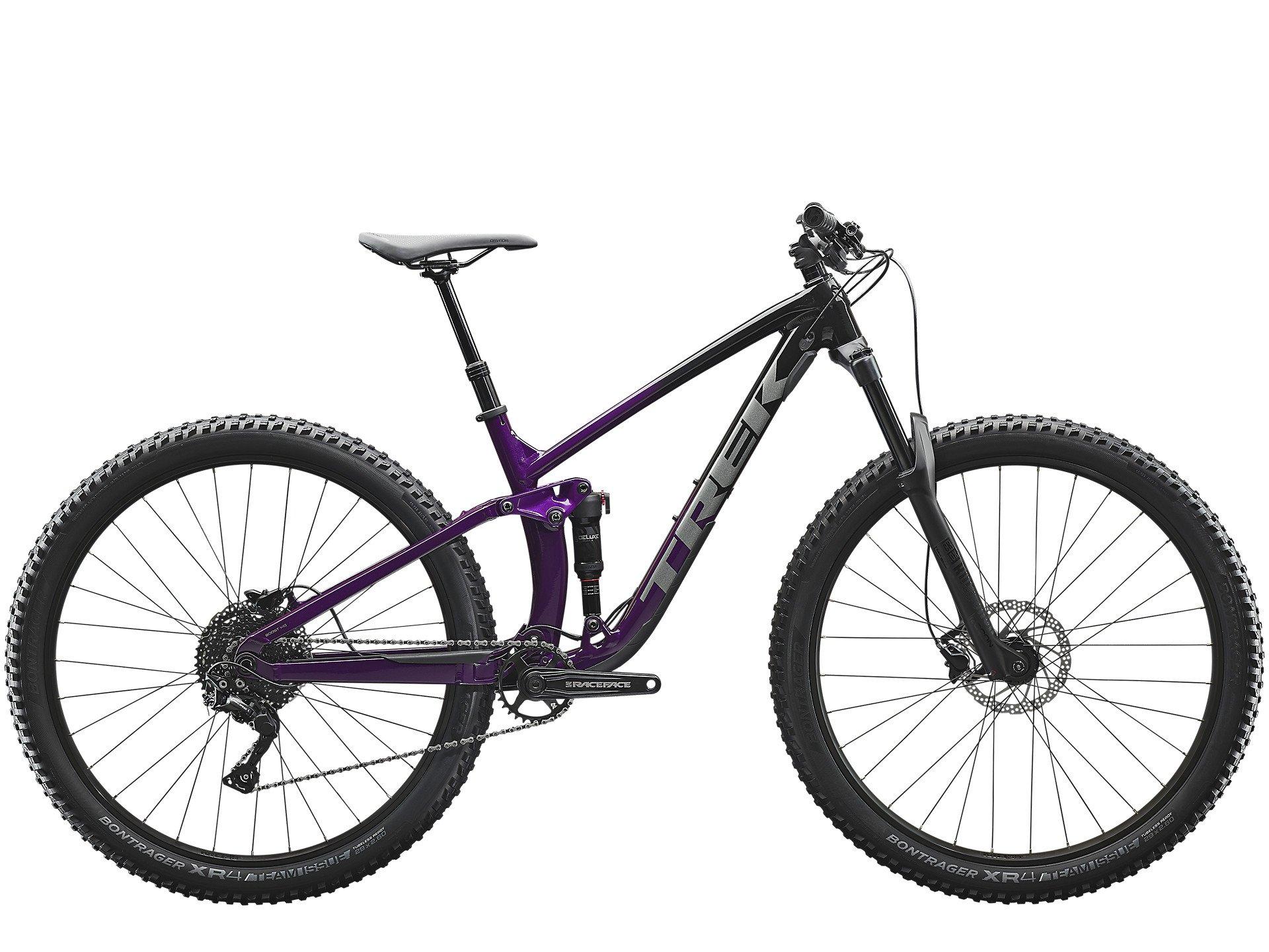Trek Fuel EX Deore Black Purple