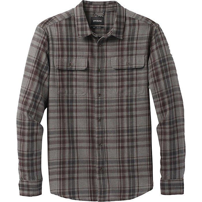 Prana M's Edgewater Long Sleeve Shirt