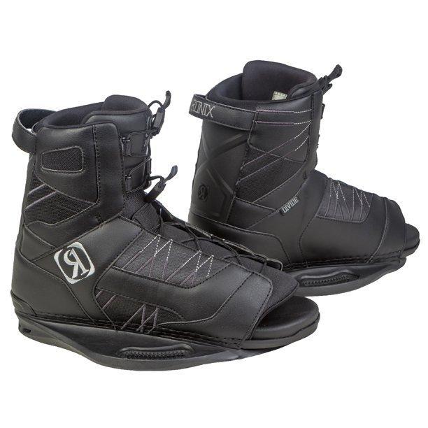 Ronix Divide Black Wakebaord Boots