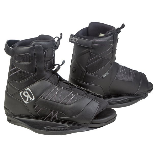 Ronix Divide Black Wakebaord Boots
