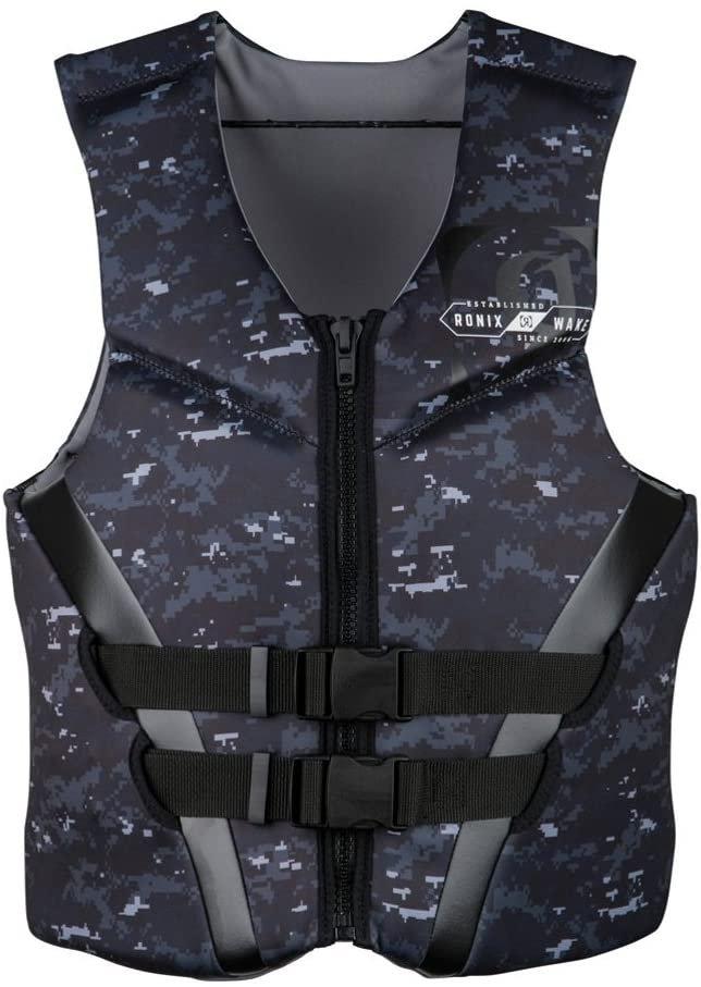 Ronix Covert CGA Life Vest - Blk/Wte/ Digi Camo - L 194055