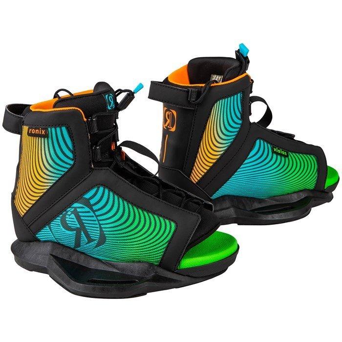 Ronix Vision Kids Boot Black / Orange / Green