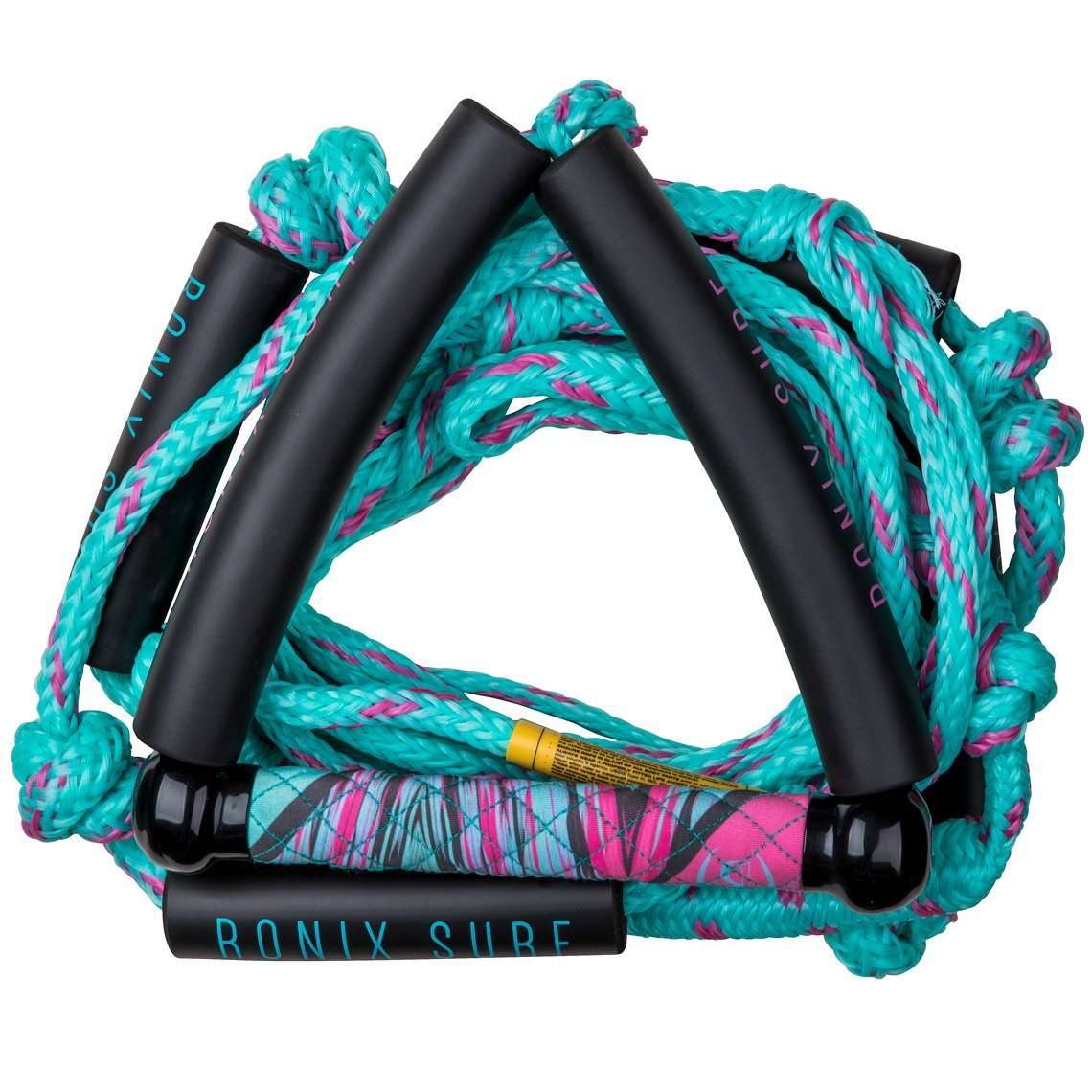 Ronix Women's Bungee Surf Rope - 10 Handle w/ 25ft 4 - Sect. Rope