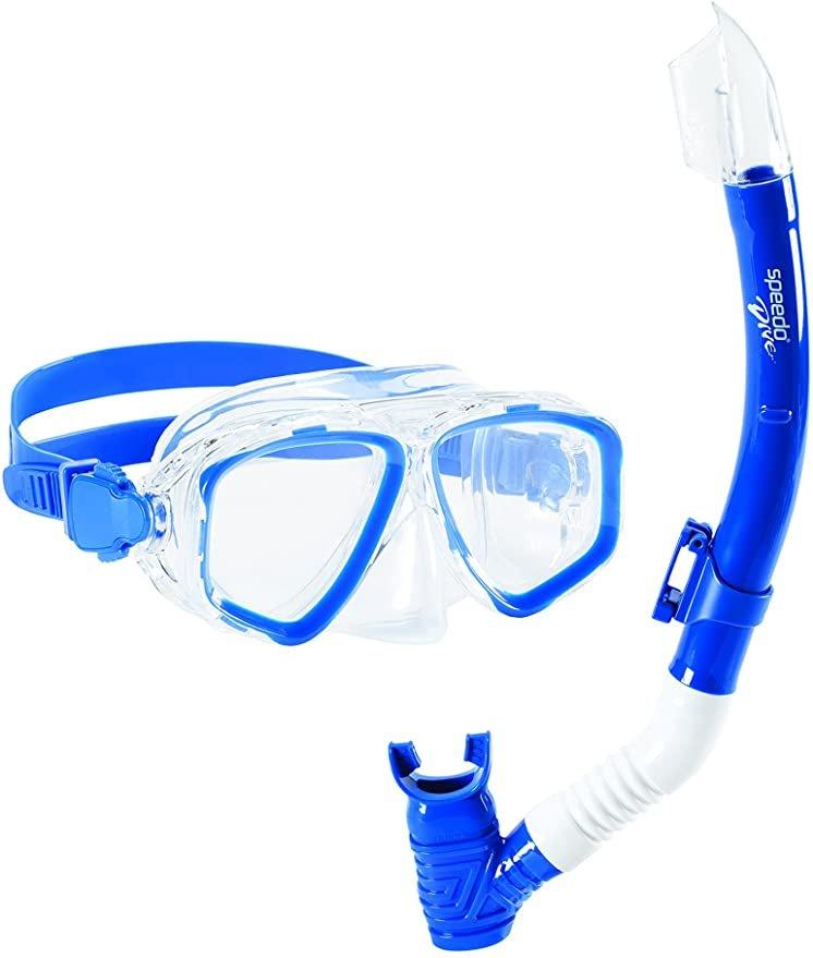 Speedo Adventure Mask and Snorkel Set