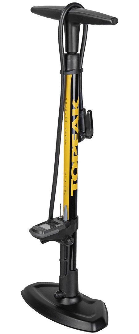 Pump Topeak Floor JoeBlow Sport Digital Black/Yellow