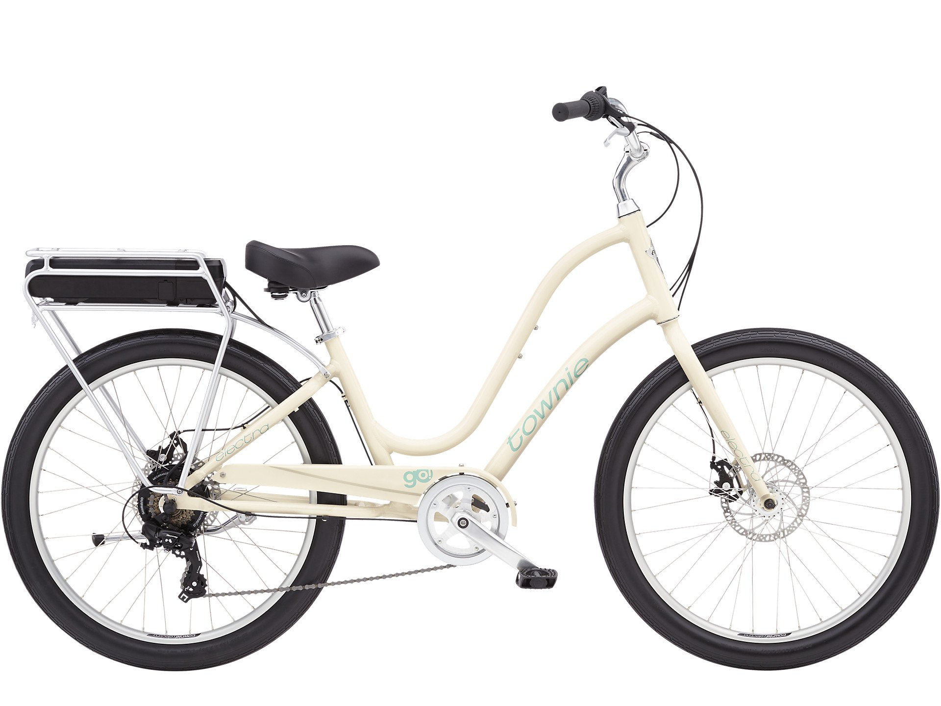 Electra Townie Go! 7D Step Thru Cream